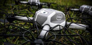 Intel Drone Super Bowl UAV