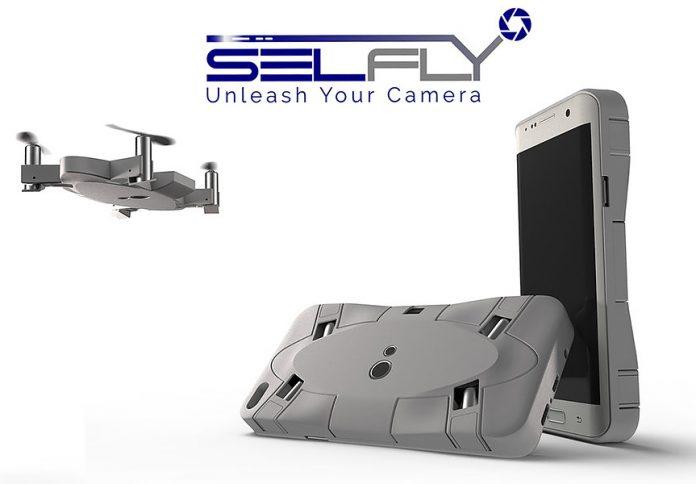SELFLY Camera Case Selfie Drone