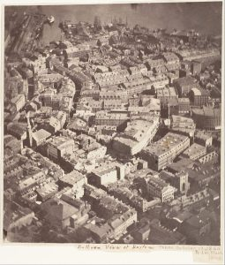 Boston Oldest Aerial Photograph