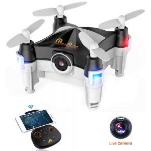 bebeerun wifi fpv camera mini drone
