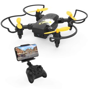 becrot foldable mini drone with camera